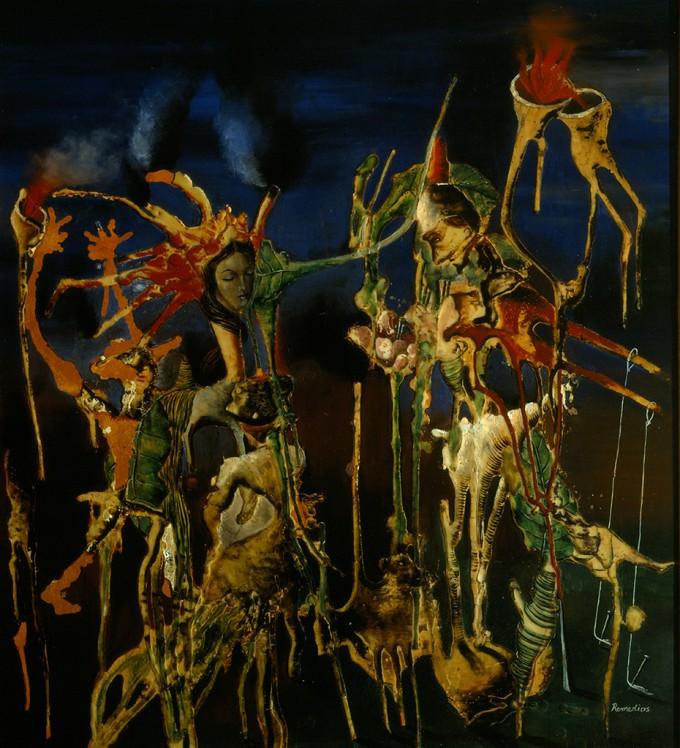 Títeres Vegetales (Marionetas Vegetales), 1938 - Remedios Varo