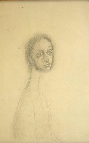 Revelación o el Relojero (Dibujo Previo 4), 1955.