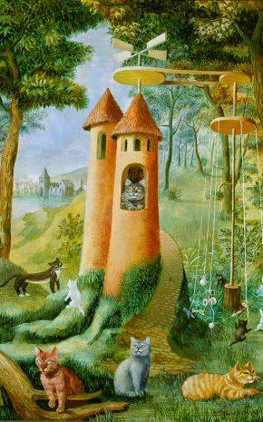 Paraíso de los Gatos, 1955.