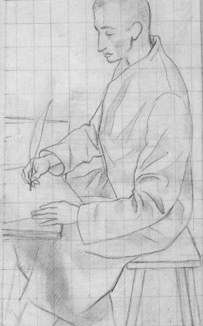 Tres Destinos (Dibujo Previo), 1956.