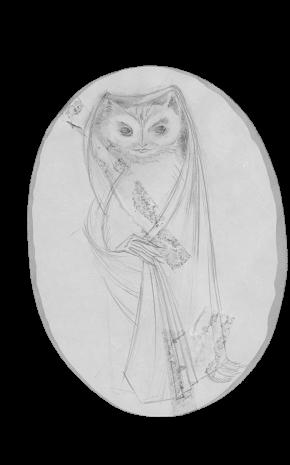 Mujer Lechuza Vestida, 1957.