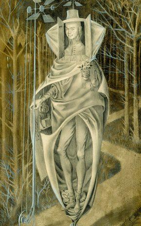 El Vagabundo (Cara de Mario Stern), 1957.