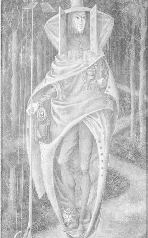 Vagabundo (Dibujo Previo), 1957.