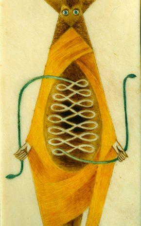 Carta de Tarot, 1957.