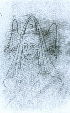 La Discreción (Dibujo Previo), 1958.