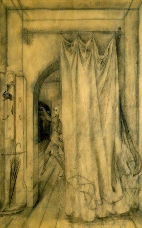 Ritos Extraños (Dibujo Previo II), 1959.