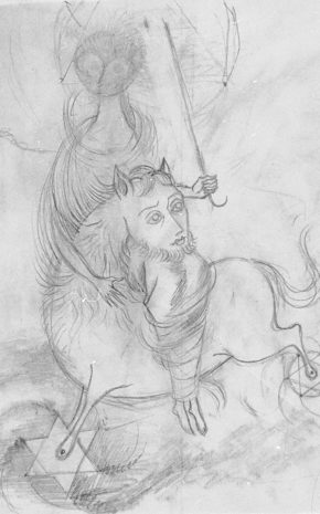 Centauro (Dibujo Previo), 1959.