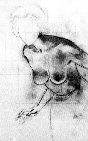Nacer De Nuevo (Dibujo Previo), 1960.