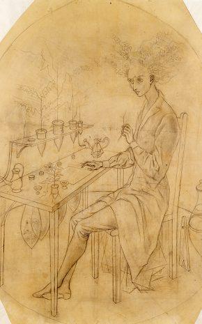 Planta Insumisa (Dibujo Previo), 1961.