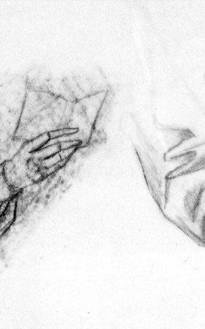 Personaje (Dibujo Previo), 1961.