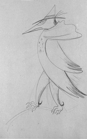 Pájaro Humano, 1943