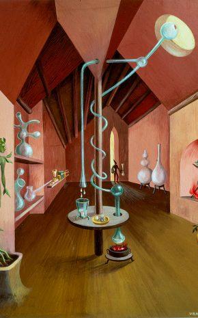 Laboratorio, 1947.