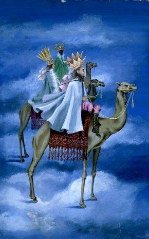 Los Reyes Magos, 1947.