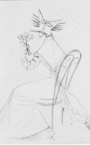 Dama Felina, 1950.
