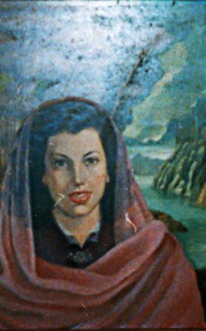 Retrato de la Señora Ángeles Gaos de Camacho, 1950.