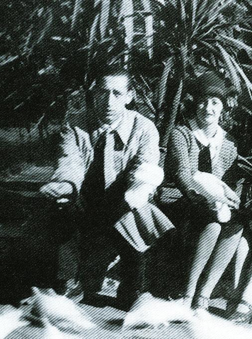 (Foto: Remedios Varo y Gerardo Lizarraga 1930)
